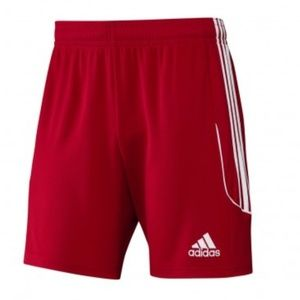 Adidas Climalite Boy's Red Shorts Size M